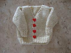 roupa para bebê em trico <br>tamanho: ate 3 meses <br>material: lã