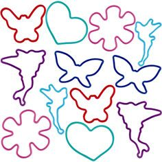 Tinker Bell Silly Bandz 12ct - Party America