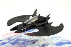 CK-Modelcars - BAT1989wing: Batmobile Batwing aus dem Film Batman 1989 schwarz 1:43 Ixo Altaya