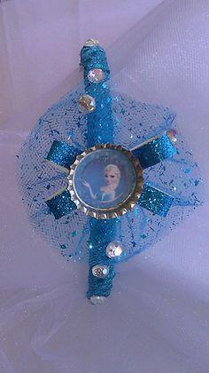 Frozen, Queen Elsa  Headband or Hair Clip, Frozen Costume Inspired Frozen Inspired Headband, Hair Clip or Clasp Pin, Hair Accessories, Girls