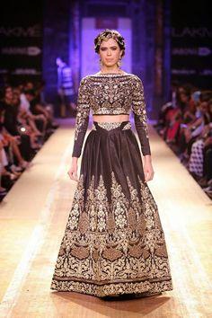 Anju Modi lakme fashion week a/w 2014