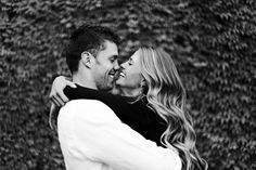 Cute + simple engagement picture