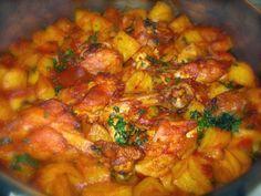 #Potato and #chicken #stew #recipe  #food #cooking #recipeoftheday #recipeideas