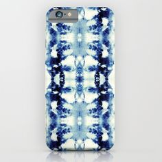 Tie+Dye+Blues+iPhone+&+iPod+Case+by+Nina+May+Designs+-+$35.00
