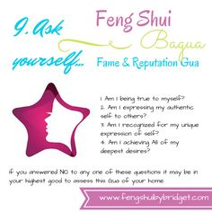 Fame and Reputation Gua Questions - Feng Shui by Bridget