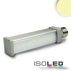 E27 LED Leuchtmittel stabförmig, 8,5W, warmweiss / LED24-LED Shop