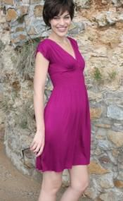 Luscious Magenta Sun Dress