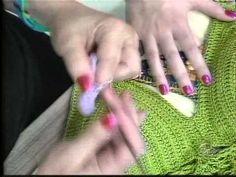 Cropped em crochê com Camila Fashion / aqui você encontra trabalhos em tricô e crochê com Cristina Amaduro