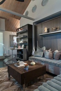 Modern In Annapolis - contemporary - family room - baltimore - by Lynbrook of Annapolis, Inc.