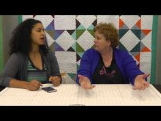 Interview with Jenny Doan of Missouri Star Quilt Company! - YouTube