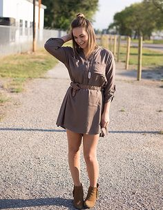 Tunic styles and shirt dresses are what we look forward to fall for! Oh, and…