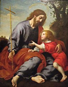 SAN JOSÉ, Y EL PEQUEÑO JESÚS