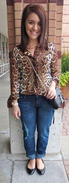 French Cuff Boutique: Daily Fashion Flash: Leopard Lovin'