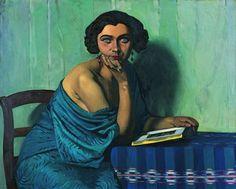 ''Le retour de la mer '' 1924 by Felix Vallotton *
