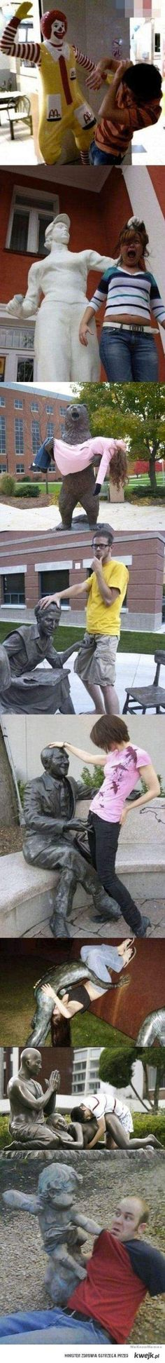 Statue... hahaha