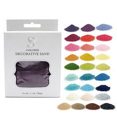 Crystalline Colored Quartz Sand - The Knot Shop