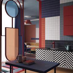 2,480 vind-ik-leuks, 19 reacties - ELLE Decoration (@elledecoration_nl) op Instagram: 'In ons volgende nummer een interview met de kleurrijke ontwerpster Daria Zinovatnaya. Iets om naar…'