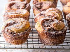 Cinnamon Sugar Morning Buns - Bake from Scratch Baking Buns, Bread Baking, Baking Recipes, Dessert Recipes, Whole30 Recipes, Pastry Recipes, Healthy Desserts, Crockpot Recipes, Breakfast Recipes