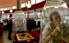 Smoking bells in Japan