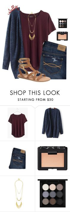 """Going to Gettysburg tomorrow!"" by sc-prep-girl ❤ liked on Polyvore featuring мода, Madewell, Abercrombie & Fitch, NARS Cosmetics, BaubleBar, MAC Cosmetics и Sam Edelman"