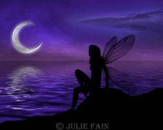 """""""Moonlit Waters"""" by Julie Fain"""