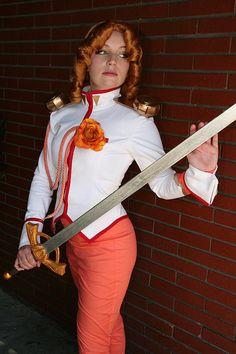 Juri Arisugawa #cosplay from Revolutionary Girl Utena (Shoujo Kakumei Utena) available on etsy.com