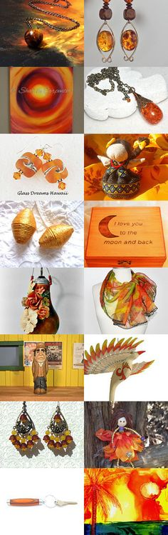 On Fire ... by Bianca BsCozyCottageCrafts, LLC on Etsy--Pinned with TreasuryPin.com