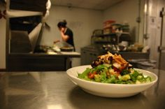 Our salad!    www.conniespizza.com  #pizza #salad #food #connies #restaurant #chicago #city #menu #cook
