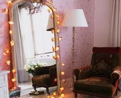 DIY Home Decor Ideas - Fairy Lights - Click Pic for 47 Decor Ideas for Girls Rooms
