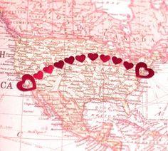 True love knows no distance...