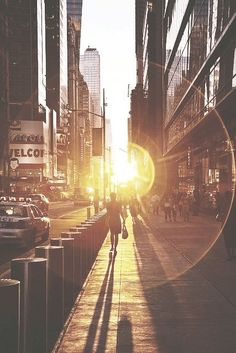 NYC Sunlight...one day I will be able to wake up with these sunrises: