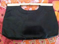 SOLD  Vintage Mod Designer Letisse Clutch Handbag by EcoBeachDesigns