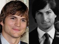 I'm a Steve Jobs Fan! Not sure how Ashton will do playing this part but he does look like him... sorta.