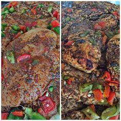 I'm basically going to turn into the Marco Stewart or Harlem. Before and After. #MealPrepMonday #FitLife #Fitness #Fitfam #AbsAreMadeInTheKitchen #HealthyFood #JerkChicken #BakedChicken #SeasonedRight #FoodPorn #FitFam #JamaicanFood #IslandFood #JamaicanCuisine #JamaicanFoodPorn by hositdown