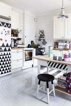 Ideas para decorar una cocina : via MIBLOG