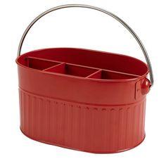 Red Flatware Caddy: Shopko