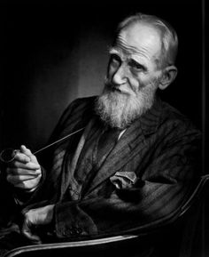 George Bernard Shaw, photo by Yousuf Karsh