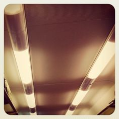 Beacons of light - train wagon ceiling
