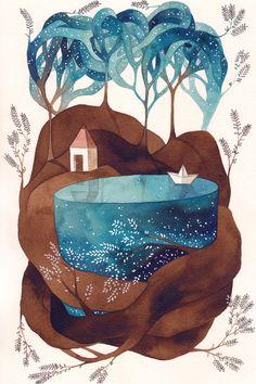 """""""Island I"""" by Gemma Capdevilla"""
