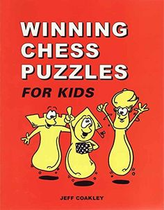 Looking for a Winning Chess Puzzles For Kids. We have Winning Chess Puzzles For Kids and the other about Play Kids it free. Chess Tactics, Chess Puzzles, Chess Books, How To Play Chess, Puzzles For Kids, Good Company, Design Reference, Kids Learning, Kids Playing