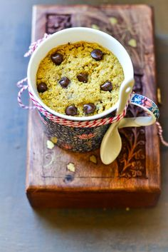 Mix and Stir: Chocolate Chip Cookie in a Mug