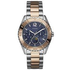 Relógio Guess Aço Prata e Rosé Feminino - W0565L3