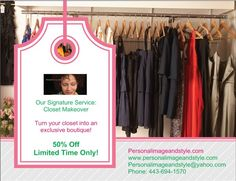 Check out the website for full details.  www.personalimageandstyle.com