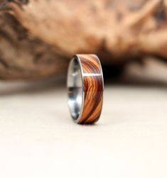 Bethlehem Olivewood Wooden Ring Lined With by WedgewoodRings