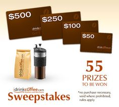iDrinkCoffee.com 5th Year Anniversary Sweepstakes 5 Year Anniversary, Cool Tech, Espresso Coffee, Fountain Pens, Check It Out, Coffee Time, 5 Years, Montreal, Safari