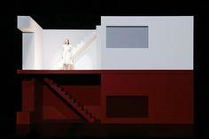 Stagedesign for SPRING AWAKENING, Duncan Sheiks Muscial for Oper Halle, Germany Sebastian Hannak