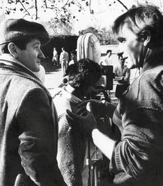"""behind the scenes of """"Dead Poets Society"""", 1989"""