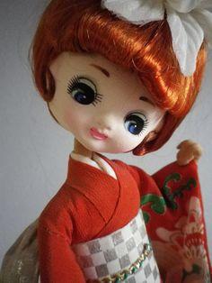 big-eyed Bradley doll