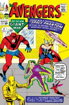 The Avengers (Volume) - Comic Vine #2