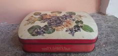SCATOLA DI LATTA ANNI 60 BY GEORGE W. HORNER MADE IN ENGLAND VINTAGE